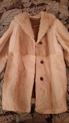 Real Women Fur Jacket Coat Women's Russia Ussr Never Soviet Used 0q1wBf75