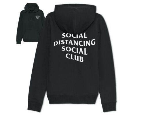 Social Distancing Social Club Hoodie Hoody Self Isolating Quarantine Distance