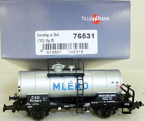 CSD-Kesselwagen-R-MLEKO-EpIII-TILLIG-76531-H0-1-87-OVP-NEU