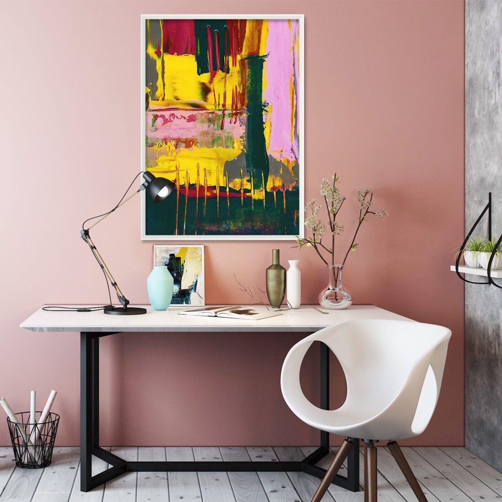 3D Graffiti Abstract 3 Framed Poster Home Decor Drucken Painting Kunst AJ WandPapier