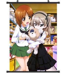3913 Anime GIRLS und PANZER wall Poster Scroll A