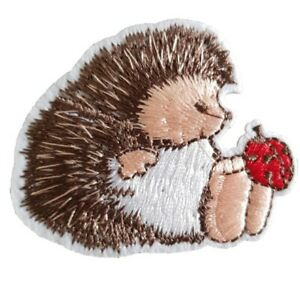 Cute-Hedgehog-Iron-On-Patch-Sew-on-Embroidered-transfer-small-Hedgehog