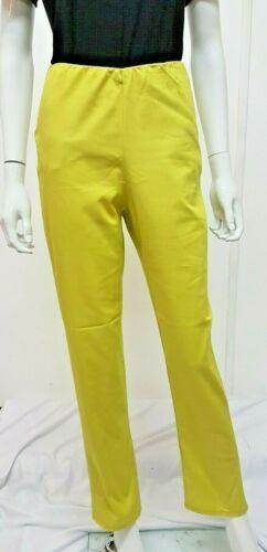** Nouveau 2019 Summer Neon Vert lime Coton Stretch Pantalon Tailles 6-14 UK Vendeur **