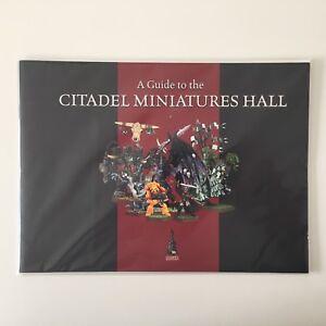 Un guide de la salle des miniatures de la citadelle Le catalogue Warhammer World 40.000 Fantasy
