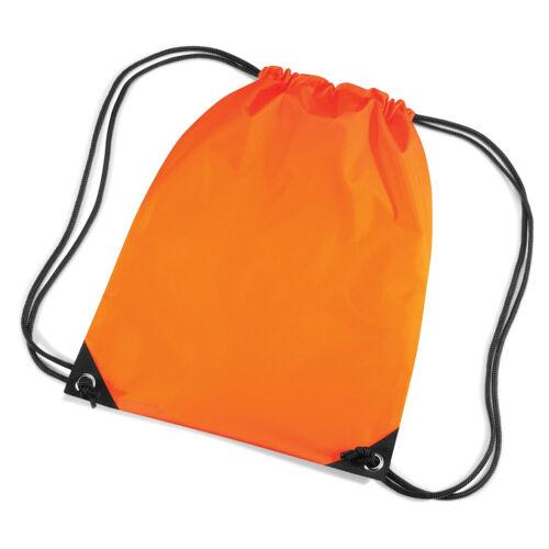 Gym Bag Classic Children/'s PE Kit Bag Gymsac with FREE PRINTING