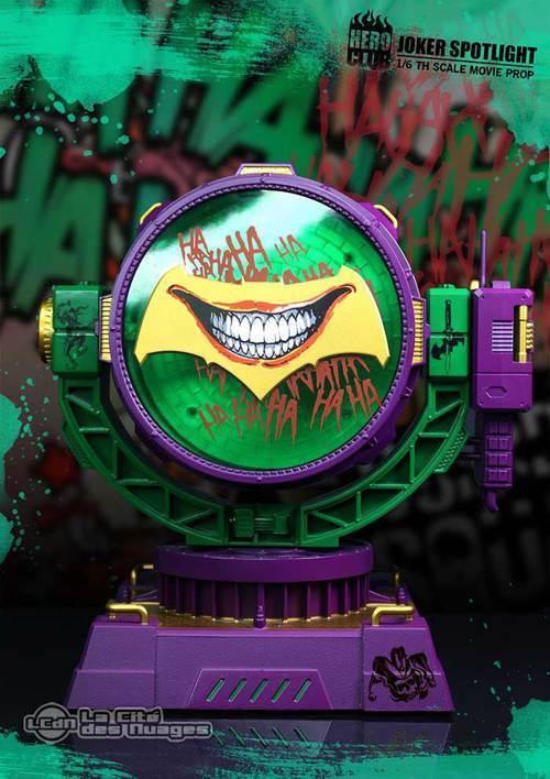 Joker riflette il club dell'eroe della squadra suicida 1 6 replica di scena del film 28cm lampada