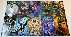Dynamite-BETTIE-PAGE-UNBOUND-comics-1-2-3-4-5-6-7-8-9-10-FULL-SET