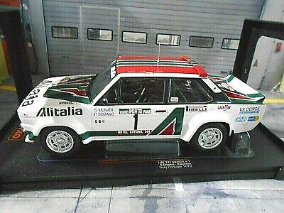 Fiat 131 Abarth Alitalia  Rallye Portugal 1978 Sandro Munari  1:18 IXO 18RMC028B