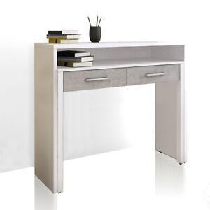 Consolle con scrivania ufficio estraibile 99x36x88h cm ...