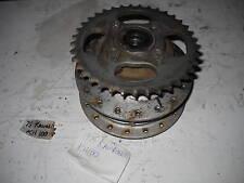 Kawasaki  KE100 KH100 G5 Rear Wheel Hub & Sprocket 76-81 KH100 G5 & 1972-75