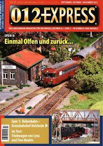 012 Express Nº 27 Grossbahn Magazine Piste 0, 1 Et 2 Top Neuf