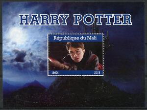 Mali-2018-CTO-Harry-Potter-Daniel-Radcliffe-1v-M-S-Movies-Film-Stamps