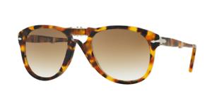 ac15f842c2 Image is loading Authentic-PERSOL-0714-105251-Sunglasses-Clear-Gradient- Madreterra-