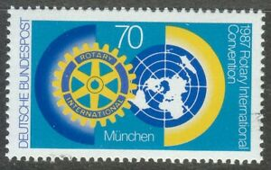 Germany-1987-MNH-Mi-1327-Sc-1511-Rotary-International-Convention-Munich
