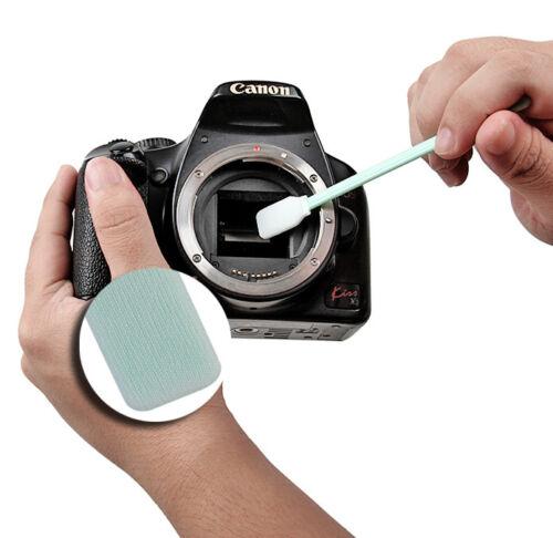 KIT PENNELLO PULIZIA SENSORE FOTOCAMERA CLEANER OLYMPUS MICRO 4//3 M4//3 PEN E-PL6