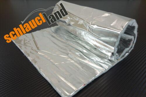Hitzeschutzmatte 5mm Alu-Keramik Double 0,5m x 0,25m ***Turbo Krümmer Tunnel