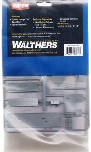HO Scale Walthers Cornerstone 933-3631 Metal Scrap Baler//Logger Kit