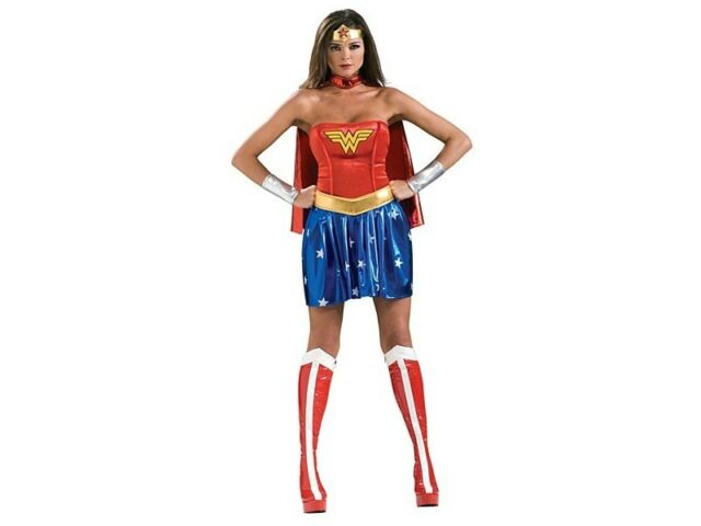 Justice League Wonder Woman Adult Costume Cape
