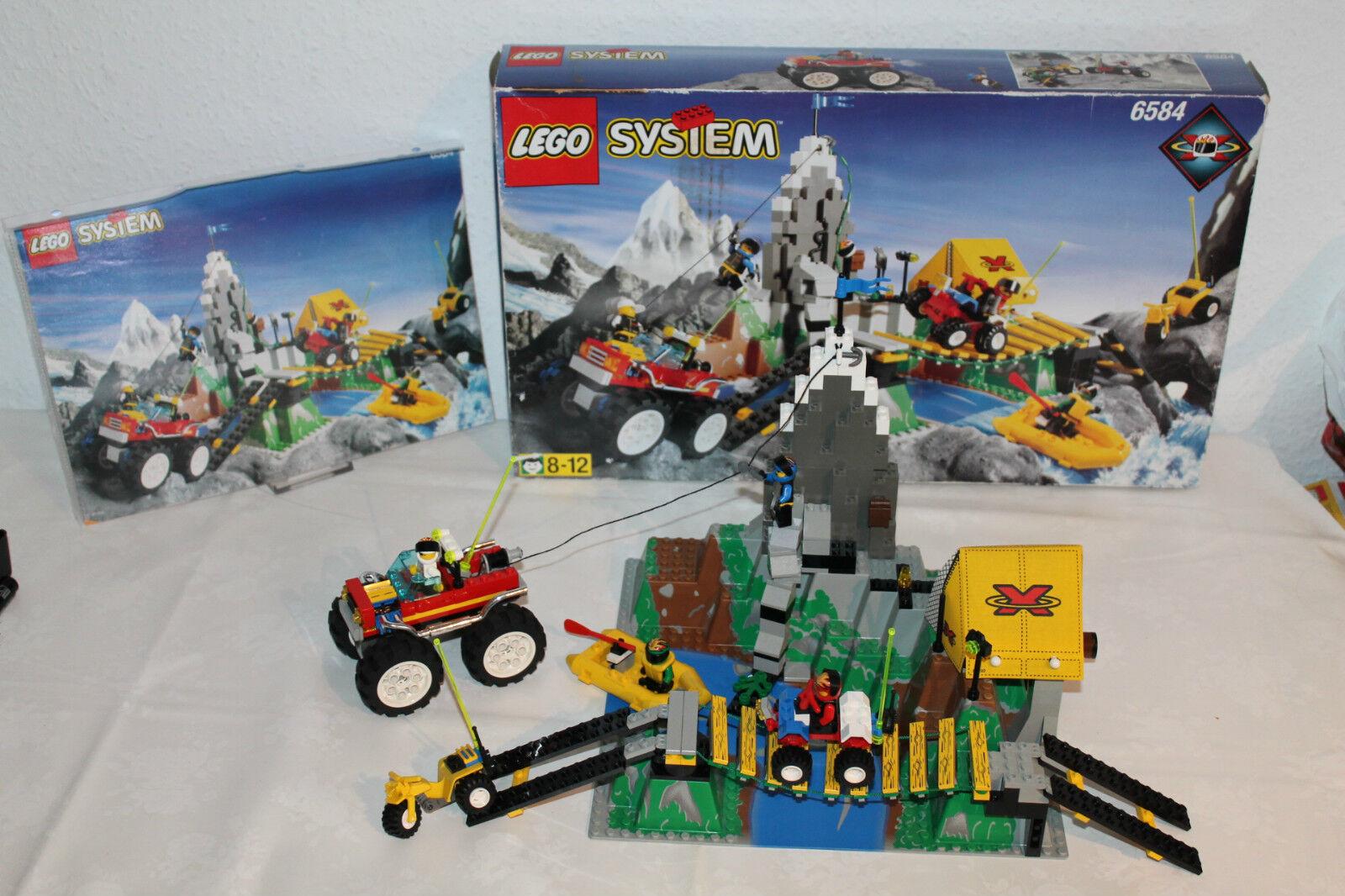 Lego System 6584 - Extreme Team Challenge   Komplett mit Bauanleitung + OVP