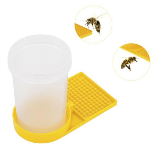 Beekeeping Beehive Water Feeder Bee Drinking Nest Entrance Beekeeper Plastic Cup