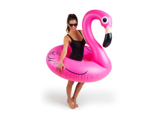Giant-Pink-Flamingo-Pool-Float-Raft-Tube-Beach-Party-Swimming-Toy-Adult-Fun