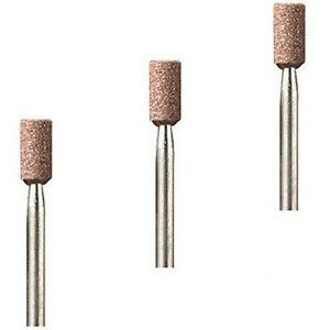 Dremel-8153-x-3-Aluminum-Oxide-Grinding-Stone-4-8mm-New