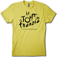 Cool Tour De Franzia T-shirt • Cycling Spoof And College Drinking Game T-shirt