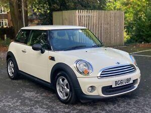 2011 Mini one 1.6 petrol hatch 3 door r56 px mini cooper s NO RESERVE