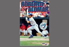 ROBERTO ALOMAR Toronto Blue Jays Vintage 1993 MLB Starline Action POSTER