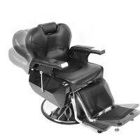 Adjustable Barber Reclining Hydraulic Salon Hair Cutting Shaving Tattoo Chair