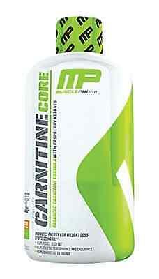 MusclePharm Core LIQUID CARNITINE 30 Servings BURN FAT 16oz Citrus Flavor ENERGY