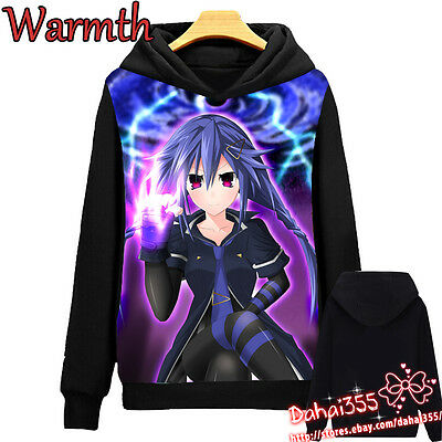 Anime Hyperdimension Neptunia Cosplay Coat Sweater Unisex Sweatshirts Hoodie#6