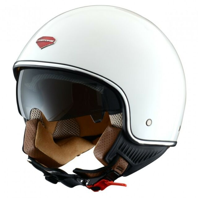 CASQUE SCOOTER MOTO ASTONE MINI JET RETRO BLANC VERNI
