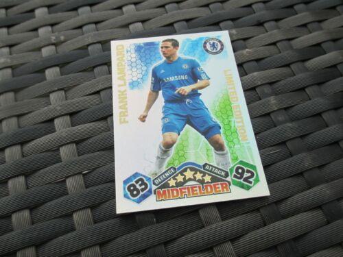 Match Attax attaque 2009//10 09//10 Frank Lampard Limited Edition card