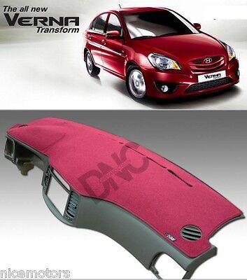 Car Dash Board Carpet Sun Cover For Hyundai Verna Avega Accent 2006 2010