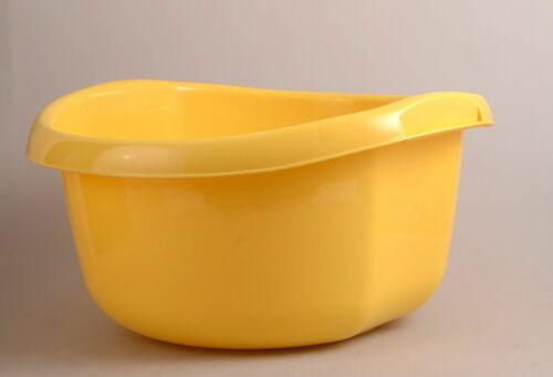 Schüssel Plastikschüssel 10l ! Plastik Waschschüssel Spülschüssel 10l Gelb