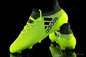 best service f631a db642 Details about $200 New Adidas X 17.1 FG Soccer Cleats Boots Yellow-Black  S82286 Predator Ace