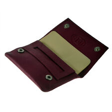 P35539PI - GBD Mini Pink Leather Patterned Roll Your Own Tobacco Pouch