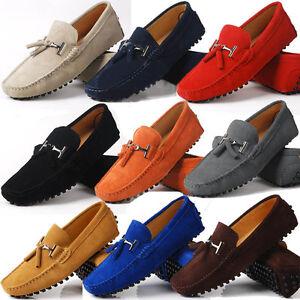 Fulinken-US-6-10-seude-Leather-Mens-tassel-Loafer-slip-on-mens-driving-shoes