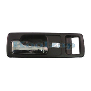 90-93 Accord Coupe Beige Tan W//Power Locks Inside Inner Door Handle Left Driver
