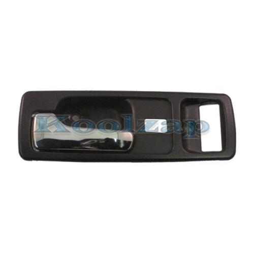 90-93 Accord Coupe Gray Grey W//Power Locks Inside Inner Door Handle Left Driver