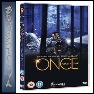 ONCE UPON A TIME - COMPLETE SEASON 7 - SEVENTH & FINAL SEASON *BRAND NEW DVD