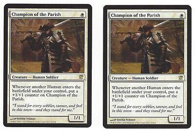1x Champion of the Parish LP English MTG Innistrad