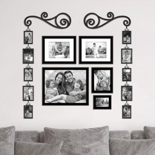 12-Pcs Home Wall Door Window Hanging Decorative Display Frame Scroll Set New