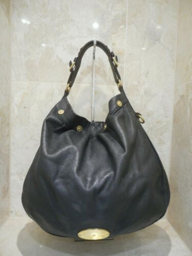 Seriale Hobo Pelle A Black Tote verniciata Extra Net Mulberry Large n Porter WE2DH9IY