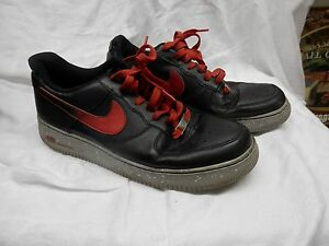 purchase cheap 3ce7a f59fb Image is loading vintage-nike-AIR-FORCE-1-82-black-with-