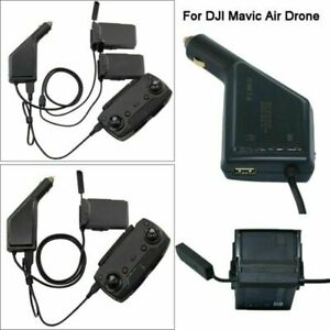 3in1 Car Charger Compact Parts for DJI Mavic AIR 2 Drone Battery/&Remote Control