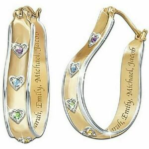 Wholesale Yellow Gold Filled Sapphire Stud Dangle Heart ...