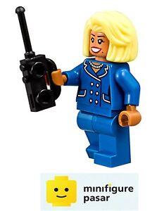 sh350 The Lego Batman Movie 70904 - Mayor McCaskill Minifigure w Radio - New