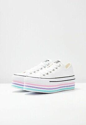 Converse Women's White/Pink All Star HI